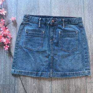 Gap jean skirt denim women's size 6 EUC